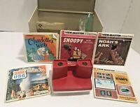 Vintage View Master Storage Case, Model G Viewer, 15 Reels