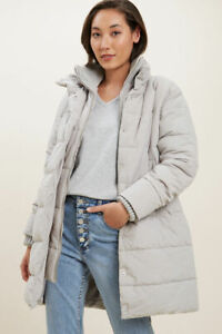 BrandNew * - * Seed Heritage * Longline Double Zip Puffer* - *Free Shipping