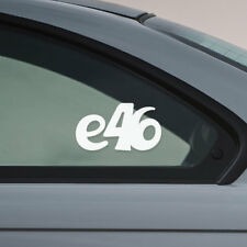 BMW e46 window windshield sticker stance drift sport decal