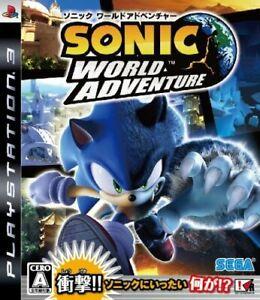 Sonic World Adventure PS3 Sega Sony PlayStation 3 From Japan