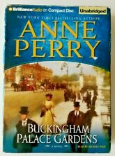 Buckingham Palace Gardens Anne Perry Audiobook CD Charlotte Thomas Pitt