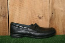 RED WING Black Leather 2 Eye Oxfords Boat Shoes Women's Sz. 10B