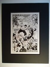 3rd Guardians Giant-Size Defenders # 5 Don Heck Valkyrie Page 34 Production Art