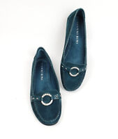 Gianni Bini Shoes 6.5 M Teal Suede