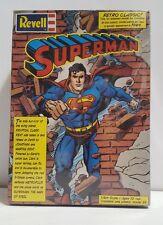 Superman Plastic Model Kit Revell 1999 Sealed Retro Classic 1/8  scale