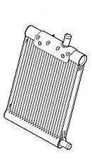LAND ROVER RANGE ROVER Radiator Cooler Fuel Diesel 3.6 V8 L322 L320 PCC500580