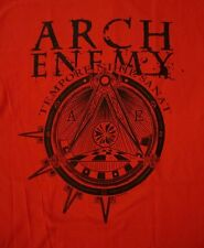 ARCH ENEMY cd lgo WAR ETERNAL Official RED SHIRT MED New OOP tempore nihil sanat