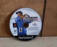 Tiger Woods PGA Tour 07 Sony PlayStation 2  disc only Tested