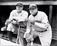 Babe Ruth Lou Gehrig Photo 8X10 New York Yankees #1  Buy Any 2 Get 1 FREE