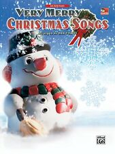 """""""VERY MERRY CHRISTMAS SONGS"""" BIG NOTE PIANO MUSIC BOOK-BRAND NEW ON SALE-COATES"""