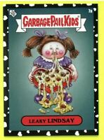 2021 Garbage Pail Kids GPK BLACK HEART PARALLEL /80 MADE - 7a Leaky Lindsay