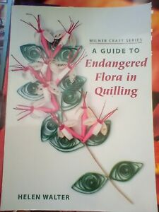 Quilling Book - Endangered Flora in Quilling