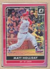 Matt Holliday 153 2016 Donruss Optic Pink (Prizm)