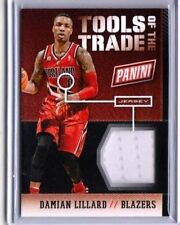 DAMIAN LILLARD 2014 PANINI-NATIONAL TOOLS OF THE TRADE GAME USED JERSEY