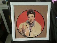 Elvis Presley Record Photo Disc Rare And Nice 1950s Vintage Elvis