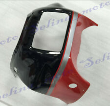 Front Fairing Nose Head Cowl Upper Fit For Yamaha RZV500 R RD500 1985 Black Red