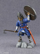 Metal Toy Soldier Hand Painted Viking Warrior Figurine 1/32 scale 54mm Miniature