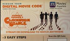 New listing A Clockwork Orange 4k blu ray Code