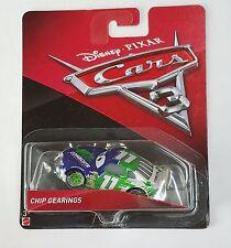 CARS 3 - CHIP GEARINGS racer CUMBUSTR TEAM -  Mattel Disney Pixar
