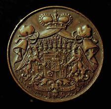 Gft. Hatzfeld, Medaille 1910 Tod Franz Edmund v. Hatzfeld-Wildenburg, R!
