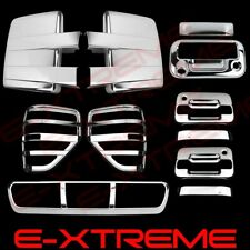 09-14 F150 Chrome Cover Mirror+2 Door W/PKH+Tailgate W/Cam+Tail Light+3rd Brake