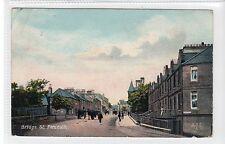 BRIDGE STREET, PENICUIK: Midlothian postcard (C16812)