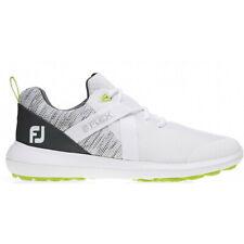 NEW Men's FootJoy Flex 2019 Golf Shoes White 56101 8.5 M