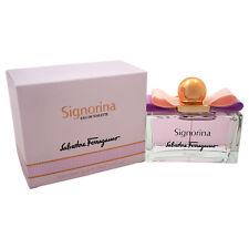 Signorina by Salvatore Ferragamo for Women - 3.4 oz EDT Spray