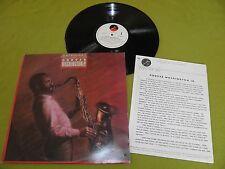 Grover Washington, Jr. - Anthology + 'Elektra' Press Promo Kit - RARE Israel LP