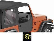 Mezza Porta Portiera Set Nero Bestop Sostanza Porte Jeep Wrangler Tj 96-06