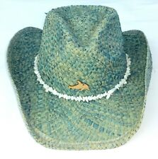 500a633cacc Conner Sea Friends Kids Western Hat One Size Maize Blue Turquoise Dolphin  Beads