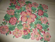 Alte  tolle  Tischdecke 177 / 107 cm   Handarbeit  Shabby Chic Vintage