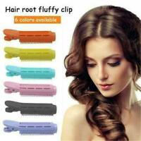 Natural Fluffy Hair Clip Hair Root Curler Roller Wave Clip Fluffy Multicolor CA