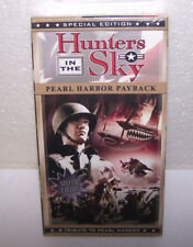 Hunters in the Sky VHS Tape Pearl Harbor Payback World War ll Movie VCR USA NEW