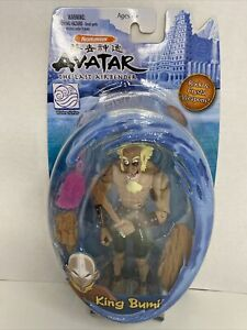 Avatar the Last Airbender KING BUMI Action Figure& Weapons Mattel Nickelodeon