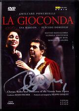 DVD Placido DOMINGO Signiert PONCHIELLI LA GIOCONDA Eva MARTON RYDL Adam FISCHER