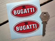 BUGATTI Racing & Classic Car 75mm stickers