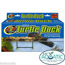 FREE SHIPPING SMALL Size ZOO MED TURTLE DOCK Landing Reptile Shelter Floating