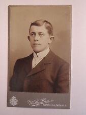 Elsterwerda - Mann im Anzug - Portrait / CDV