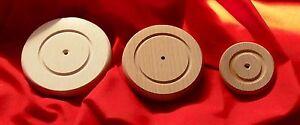2er bis 40er  Set  Holzräder  Buche  Dm 120mm 100mm 90mm 80mm 60mm 40mm 30mm