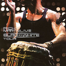 RICKY MARTIN Live Black and White Worldwide Tour 2 CD & DVD IN CONCERT SET !!!!