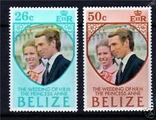 Belize 1973 Royal Wedding SG 360/1 MNH