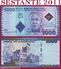 TANZANIA -  1000 1.000  SHILLINGS SHILINGI  2010 - P. 41 (NEW) - FDS / UNC