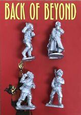 Back of Beyond Bolshevik Standard-Bearers (4) 28mm Copplestone Castings New!