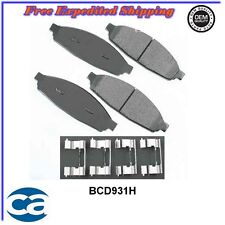 Front Disc Brake Pads ceramic BCD931H fits: 2003 – 2011  Lincoln Town Car   4.6L