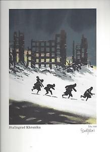 BOURGERON - STALINGRAD KHRONIKA (N°/Signé) NEUF