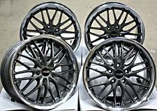 "18"" ALLOY WHEELS X 4 GM 190 FITS SAAB 9-3 9-5 93 95 9-3C JEEP COMPASS RENEGADE"