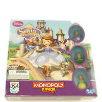 Disney's Sofia the First Monopoly Junior Board Game NEW SEALED