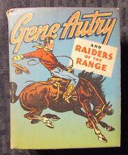 1946 GENE AUTRY Raiders of The Range VG+ 4.5 Whitman #1409 Big Little Book