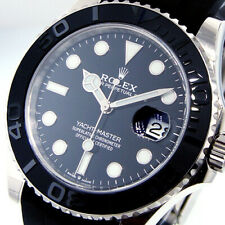 ROLEX YACHTMASTER 226659 42 mm 18K WHITE GOLD YACHT-MASTER OYSTERFLEX BLACK DIAL